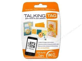 Sizzix Talking Tag Audio Message Label Ltd 20pc