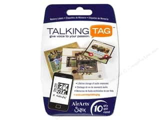 Sizzix Talking Tag Audio Memory Label Life 10pc