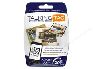 Sizzix Talking Tag Audio Memory Label Life 20pc
