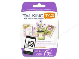 Sizzix Talking Tag Video Message Label Ltd 3pc