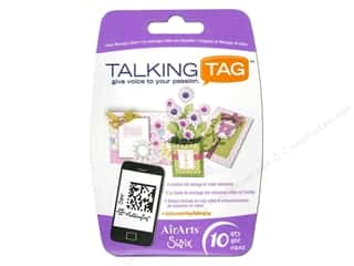 Sizzix Talking Tag Video Message Label Ltd 10pc