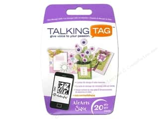 Sizzix Talking Tag Video Message Label Ltd 20pc
