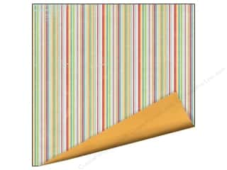 Children Clearance: Imaginisce Paper 12x12 Childhood Memories Fruit Stripe (25 pieces)