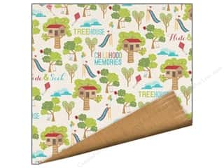 Imaginisce Paper 12x12 Childhood Mem Tree House (25 piece)