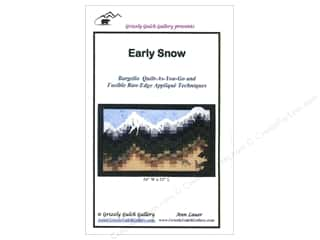 Outdoors Books & Patterns: Grizzly Gulch Gallery Early Snow Pattern