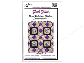 Gallery Books: Grizzly Gulch Gallery Fab Five Pattern