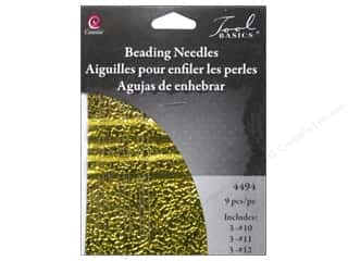 Beads Tools: Cousin Tool Needle Beading Assortment 9pc