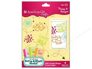 Stamped Goods Pink: American Girl Stamp It Designs