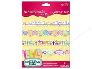 Border Stickers / Corner Stickers: American Girl Design It Tape