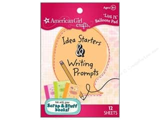 Clearance Pine Ridge Art List Pads: American Girl List It Pad Balloons