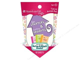 Weekly Specials Graphic 45 Paper Pad: American Girl List It Pad Arrows