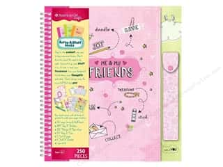 Caption Stickers / Frame Stickers: American Girl Scrap & Stuff Book Kit Friends