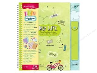 Alphabet Stickers / Number Stickers: American Girl Scrap & Stuff Book Kit My Life