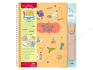 Alphabet Stickers / Number Stickers: American Girl Scrap & Stuff Book Kit School