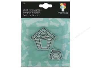 Stamped Goods $6 - $8: Imaginisce Snag 'em Stamp Good Dog Dog House