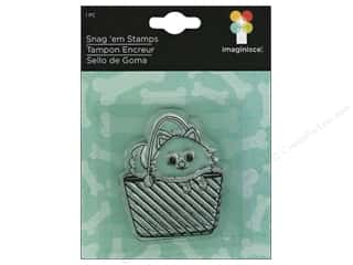 Stamped Goods Stamped Tablecloths: Imaginisce Snag 'em Stamp Good Dog Purse Dog