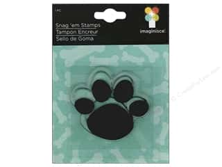 Stamped Goods $2 - $6: Imaginisce Snag 'em Stamp Good Dog Paw Print