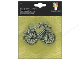 Imaginisce Snag 'em Stamp Childhood Memories Bike