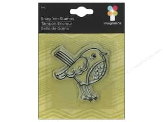 Imaginisce Snag 'em Stamp Childhood Memories Bird