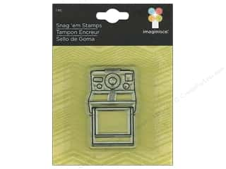 Imaginisce Rubber Stamping: Imaginisce Snag 'em Stamp Childhood Memories Camera