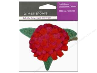 Dimensions Wool Felting Supplies: Dimensions Wool Felt Embellishment Pink Mum