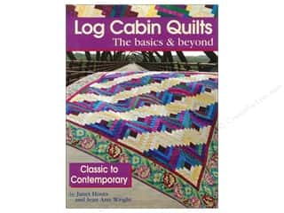 Log Cabin Quilts The Basics & Beyond Book