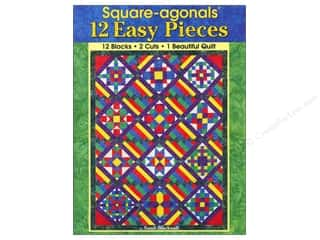 Landauer Quilt Books: Landauer Square-agonals 12 Easy Pieces Book