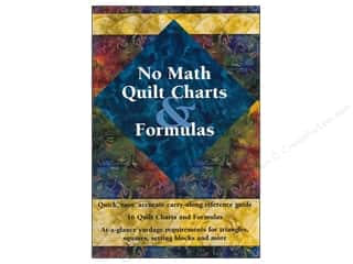 No Math Quilt Charts &amp; Formulas Booklet