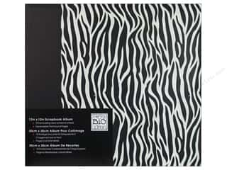 MAMBI Scrapbook Album 12&quot;x 12&quot; Zebra