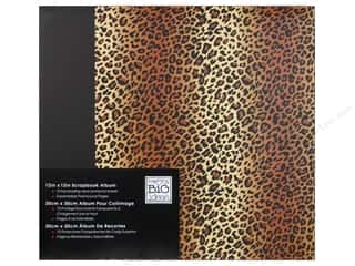 MAMBI Scrapbook Album 12&quot;x 12&quot; Leopard