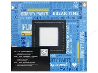 MAMBI Scrapbook Album 12&quot;x 12&quot; School Days