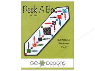 G.E. Designs Clearance Patterns: GE Designs Peek-A-Boo Runner Pattern