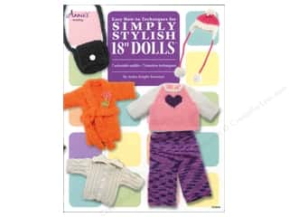 "Annie's Knit Easy How-To Techniques For Simply Stylish 18"" Dolls Book"