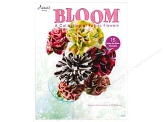Annies Attic $8 - $10: Annie's Bloom: A Collection of Fabric Flowers Book by Kimberly Christopherson and Kris Thurgood