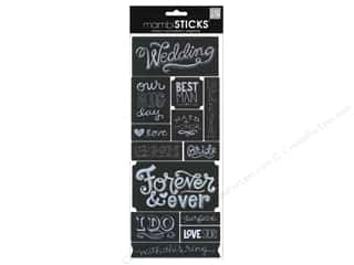 theme stickers  wedding: MAMBI Sticker Sayings Chalk Wedding