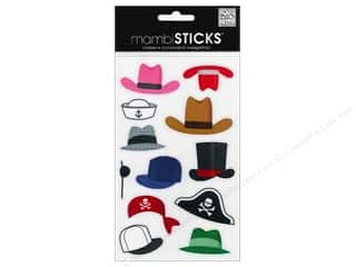 Patches Clearance Crafts: Me&My Big Ideas Sticker Mini Hats
