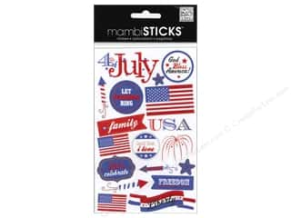 Me & My Big Ideas: MAMBI Sticker Mini 4th of July