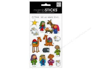 Me & My Big Ideas MAMBI Sticker Chipboard: Me&My Big Ideas Sticker Mini A Kid Like Me Nativity