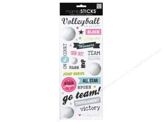 Mothers Day Gift Ideas Scrapbooking: MAMBI Sticker Volleyball On Court