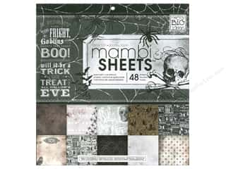MAMBI Sheets Cdstk Pad 12x12 Sophisticated Haunt