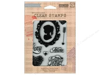 Clearance Plaid Stamps Clear: BasicGrey Clear Stamps 12 pc. True Love