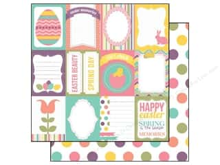 Papers Easter: Echo Park 12 x 12 in. Paper Happy Easter Collection Journaling (15 pieces)