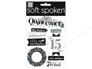 Sewing Construction Party & Celebrations: Me&My Big Ideas Sticker Soft Spoken Quincenera