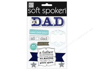 Me & My Big Ideas: MAMBI Sticker Soft Spoken No 1 Dad