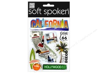 MAMBI Sticker Soft Spoken California Surfboard