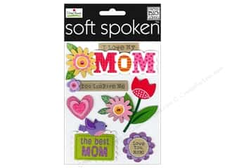 Mother's Day Gift Ideas: Me&My Big Ideas Sticker Soft Spoken Ellen I Love My Mom
