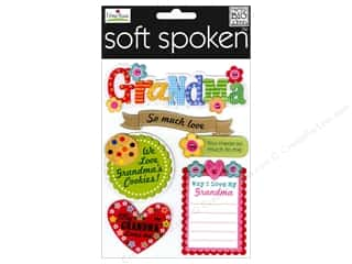 Craft & Hobbies Mother's Day Gift Ideas: Me&My Big Ideas Sticker Soft Spoken Ellen Grandma
