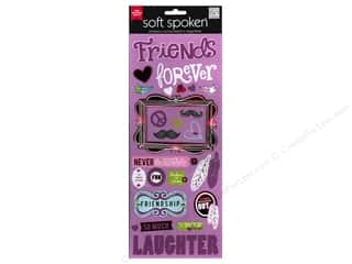 MAMBI Sticker Soft Spoken Friends Forever Purple