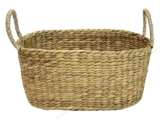Sierra Pacific Oval Basket with Raised Handle