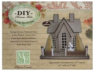Melissa Frances Queen Ann House Chipboard Large